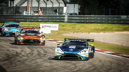 #159 Garage 59 GBR Aston Martin Vantage AMR GT3 Alex MacDowall GBR Nicolai Kjaergaard DNK Valentin Hasse Clot FRA Silver Cup, Race  | SRO / Patrick Hecq Photography