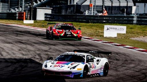 #93 SKY - Tempesta Racing GBR Ferrari 488 GT3 Rino Mastronardi iTA Jonathan Hui HKG Chris Froggatt GBR Pro-Am Cup, Race  | SRO / Patrick Hecq Photography