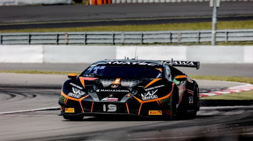 #19 Orange 1 FFF Racing Team CHN Lamborghini Huracan GT3 Evo Phil Keen GBR Stefano Costantini ITA Hiroshi Hamaguchi JPN Pro-Am Cup, Race  | SRO / Patrick Hecq Photography