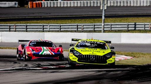#2 GetSpeed DEU Mercedes-AMG GT3 Jim Pla FRA Olivier Grotz LUX Florian Scholze DEU Pro-Am Cup, Race    SRO / Patrick Hecq Photography