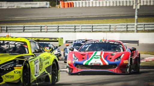 #52 AF Corse ITA Ferrari 488 GT3 Louis Machiels BEL / / Andrea Bertolini ITA Pro-Am Cup, Race  | SRO / Patrick Hecq Photography