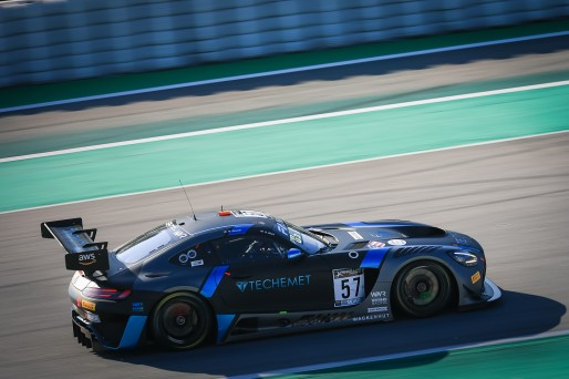 #57 Winward Racing USA Mercedes-AMG GT3 Russell Ward USA Philip Ellis GBR Mikael Grenier CAN Silver Cup, Paid Test Session 1  | SRO / Patrick Hecq Photography