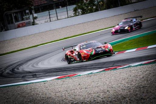 #33 Rinaldi Racing DEU Ferrari 488 GT3 David Perel ZAF Benjamin Hites CHL Fabrizio Crestani ITA Silver Cup, Free Practice  | SRO / Dirk Bogaerts Photography