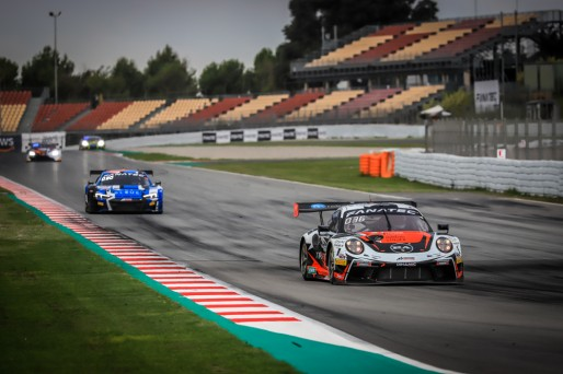 #56 Dinamic Motorsport ITA Porsche 911 GT3-R (991.II) Andrea Rizzoli ITA Mikkel O. Pedersen DNK Romain Dumas FRA Pro Cup, Free Practice  | SRO / Patrick Hecq Photography