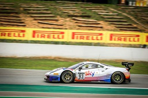 #93 SKY - Tempesta Racing GBR Ferrari 488 GT3 Rino Mastronardi iTA Jonathan Hui HKG Chris Froggatt GBR Pro-Am Cup, Pre-Qualifying  | SRO / Patrick Hecq Photography