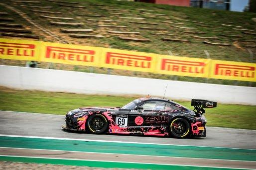 #69 Ram Racing  GBR Mercedes-AMG GT3 Robert Collard GBR Sam De Haan GBR Fabian Schiller DEU Pro-Am Cup, Pre-Qualifying    SRO / Patrick Hecq Photography