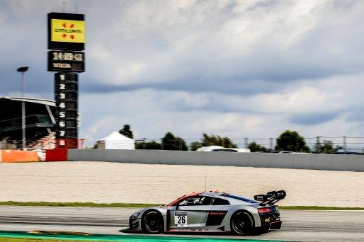 #26 Sainteloc Racing FRA Audi R8 LMS GT3 EVO2  Markus Winkelhock DEU Finlay Hutchison GBR Dennis Lind DNK Invitational, Pre-Qualifying    SRO / Patrick Hecq Photography
