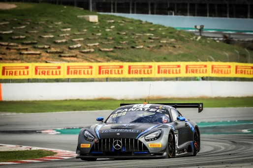 #57 Winward Racing USA Mercedes-AMG GT3 Russell Ward USA Philip Ellis GBR Mikael Grenier CAN Silver Cup, Pre-Qualifying  | SRO / Patrick Hecq Photography