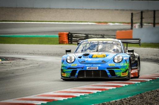 #222 Team Allied-Racing DEU Porsche 911 GT3-R (991.II) Bastian Buus DNK Joel Sturm DEU Julien Apotheloz CHE Silver Cup, Pre-Qualifying  | SRO / Patrick Hecq Photography
