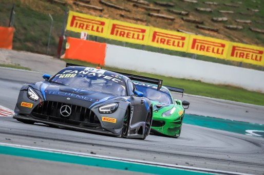 #57 Winward Racing USA Mercedes-AMG GT3 Russell Ward USA Philip Ellis GBR Mikael Grenier CAN Silver Cup, Race  | SRO / Patrick Hecq Photography