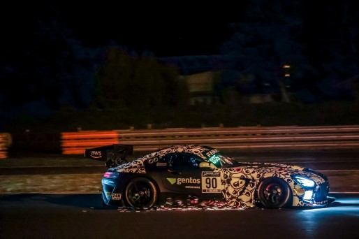 #90 Madpanda Motorsport ESP Mercedes-AMG GT3 Ezequiel Perez Companc ARG Rik Breukers NDL Silver Cup, Race 1  | SRO / Patrick Hecq Photography
