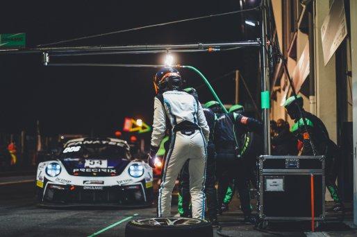 #54 Dinamic Motorsport ITA Porsche 911 GT3-R (991.II) Adrien De Leener BEL Christian Engelhart DEU Pro, GT3, GT4, Pitlane, Race 1    SRO / Jules Benichou - 21creation