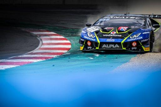 #77 Barwell Motorsport GBR Lamborghini Huracan GT3 Evo Miguel Ramos PRT Henrique Chaves PRT Pro-Am Cup, Qualifying  | SRO / Dirk Bogaerts Photography