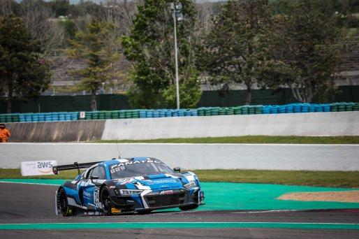 #25 Sainteloc Racing FRA Audi R8 LMS GT3 Leo Roussel FRA Christopher Haase DEU Pro, Race 2    SRO / Patrick Hecq Photography