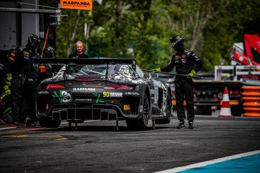 #90 Madpanda Motorsport ESP Mercedes-AMG GT3 Ezequiel Perez Companc ARG Rik Breukers NDL Silver Cup, GT3, Race 2  | SRO / Jules Benichou - 21creation