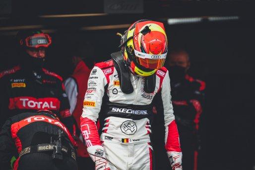 #32 Team WRT BEL Audi R8 LMS GT3 Charles Weerts BEL Dries Vanthoor BEL Pro, GT3, Race 2    SRO / Jules Benichou - 21creation