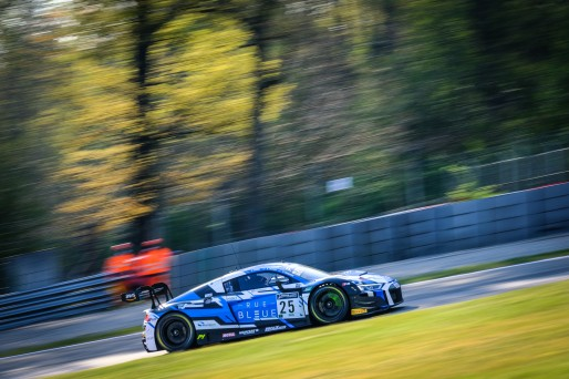 #25 Sainteloc Racing FRA Audi R8 LMS GT3 Adrien Tambay FRA Alexandre Cougnaud FRA Christopher Haase DEU Pro Cup, Free Practice  | SRO / Dirk Bogaerts Photography