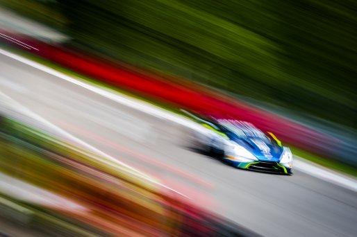 #159 Garage 59 GBR Aston Martin Vantage AMR GT3 Nicolai Kjaergaard DNK Alex MacDowall GBR Valentin Hasse Clot FRA Silver Cup, GT3, Pre-Qualifying  | SRO / Jules Benichou - 21creation