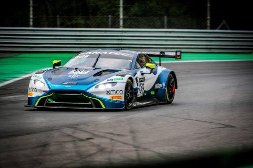 #159 Garage 59 GBR Aston Martin Vantage AMR GT3 Nicolai Kjaergaard DNK Alex MacDowall GBR Valentin Hasse Clot FRA Silver Cup, GT3, Qualifying  | SRO / Jules Benichou - 21creation