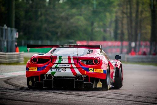 #52 AF Corse ITA Ferrari 488 GT3 Lorenzo Bontempelli CHE Louis Machiels BEL Andrea Bertolini ITA Pro-Am Cup, GT3, Qualifying  | SRO / Jules Benichou - 21creation