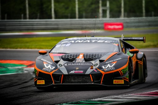 #19 Orange 1 FFF Racing Team CHN Lamborghini Huracan GT3 Evo Phil Keen GBR - - Hiroshi Hamaguchi JPN Pro-Am Cup, GT3, Qualifying  | SRO / Jules Benichou - 21creation