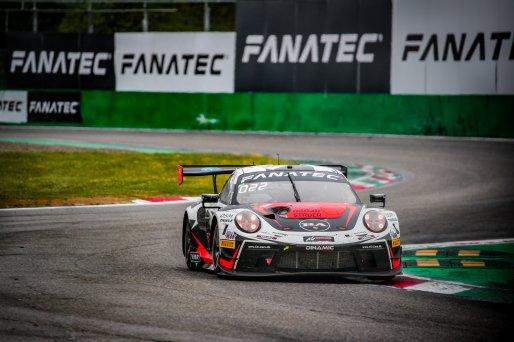 #56 Dinamic Motorsport ITA Porsche 911 GT3-R (991.II) Andrea Rizzoli ITA Mikkel O. Pedersen DNK Romain Dumas FRA Pro Cup, GT3, Race  | SRO / Jules Benichou - 21creation
