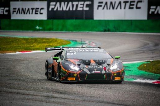 #63 Orange 1 FFF Racing Team CHN Lamborghini Huracan GT3 Evo Mirko Bortolotti ITA Marco Mapelli ITA Andrea Caldarelli ITA Pro Cup, GT3, Race  | SRO / Jules Benichou - 21creation