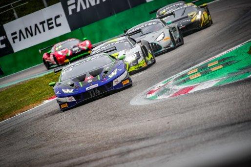 #114 Emil Frey Racing CHE Lamborghini Huracan GT3 Evo Arthur Rougier FRA Konsta Lappalainen FIN Jack Aitken GBR Pro Cup, GT3, Race  | SRO / Jules Benichou - 21creation