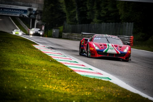 #52 AF Corse ITA Ferrari 488 GT3 Lorenzo Bontempelli CHE Louis Machiels BEL Andrea Bertolini ITA Pro-Am Cup, GT3, Race  | SRO / Jules Benichou - 21creation
