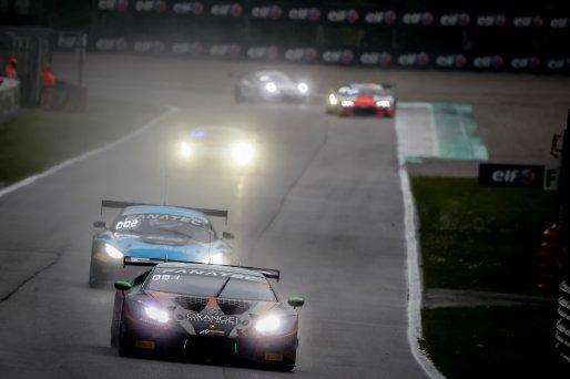 #63 Orange 1 FFF Racing Team CHN Lamborghini Huracan GT3 Evo Mirko Bortolotti ITA Marco Mapelli ITA Andrea Caldarelli ITA Pro Cup, Race  | SRO / Patrick Hecq Photography