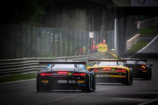 #26 Sainteloc Racing FRA Audi R8 LMS GT3 Markus Winkelhock DEU Finlay Hutchison GBR Frederic Vervisch BEL Pro Cup, Race  | SRO / Patrick Hecq Photography