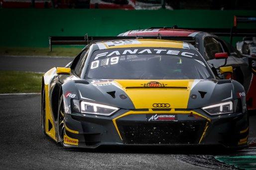 #66 Attempto Racing DEU Audi R8 LMS GT3 Mattia Drudi  ITA Christopher Mies  DEU Kim Luis Schramm  DEU Pro Cup, Race  | SRO / Patrick Hecq Photography