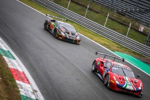 #52 AF Corse ITA Ferrari 488 GT3 Lorenzo Bontempelli CHE Louis Machiels BEL Andrea Bertolini ITA Pro-Am Cup, Race  | SRO / Patrick Hecq Photography