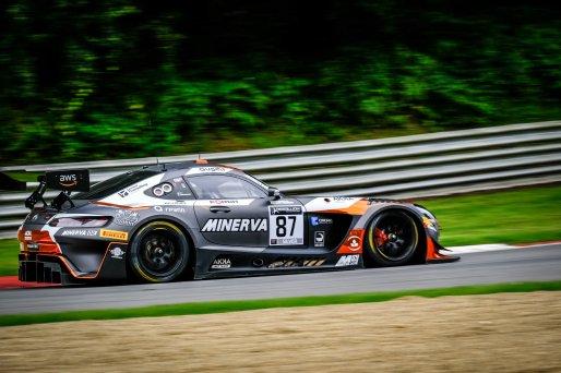 #87 AKKA ASP  FRA Mercedes-AMG GT3 Konstantin Tereschenko RUS Jim Pla FRA Silver Cup, Pre-Qualifying    SRO / Dirk Bogaerts Photography