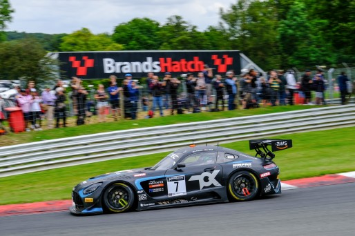 #7 Toksport WRT DEU Mercedes-AMG GT3 Oscar Tunjo COL Juuso Puhakka FIN Silver Cup, Race 1  | SRO / Dirk Bogaerts Photography