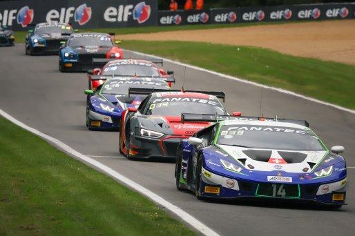 #14 Emil Frey Racing CHE Lamborghini Huracan GT3 Evo Ricardo Feller CHE Alex Fontana CHE Silver Cup, Race 2
