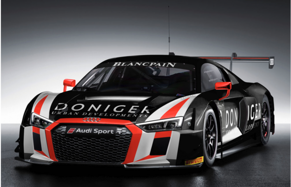 Pieter And Steijn Schothorst Will Compete Full Blancpain GT Series - Audi r8 lms