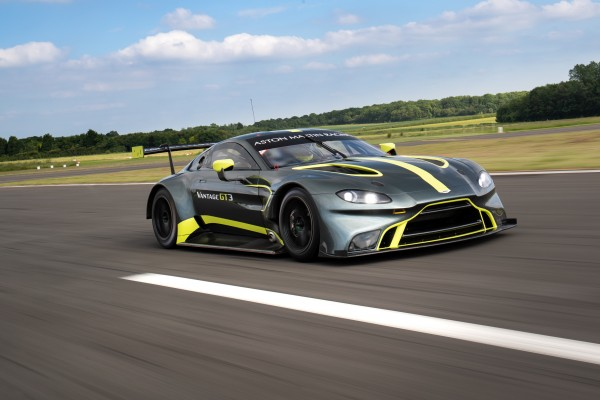 Five new Aston Martin GT3s among raft of 2019 Total 24 Hours of Spa additions