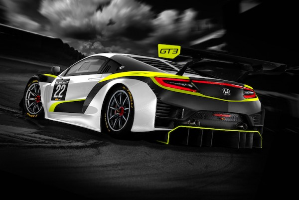 Jenson Team Rocket RJN to challenge for Silver Cup in 2019 Blancpain Endurance Series with a Honda NSX GT3 Evo