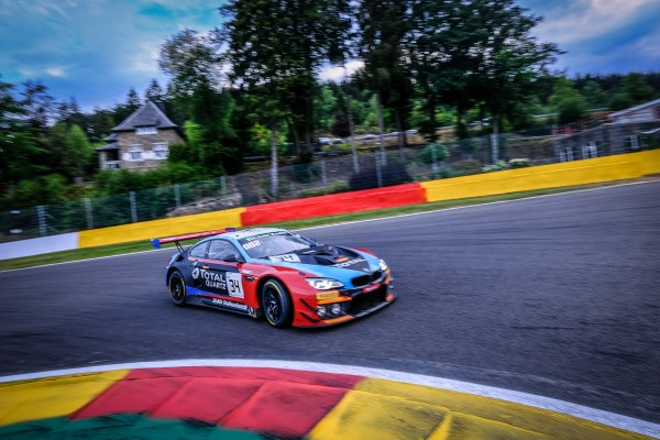 Walkenhorst Motorsport BMW leads the charge to SuperPole by topping Total 24 Hours of Spa qualifying