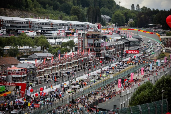 Montaplast by Land Audi leads into the night at 70th edition Total 24 Hours of Spa