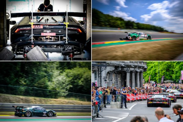 First on-track action kicks off busy week of activity at Total 24 Hours of Spa