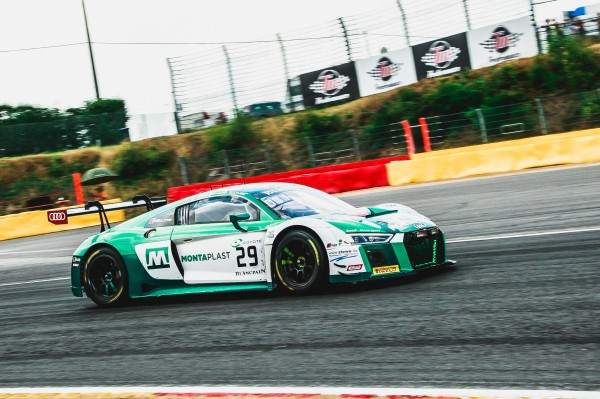 Montaplast by Land puts Audi on top in busy Total 24 Hours of Spa practice