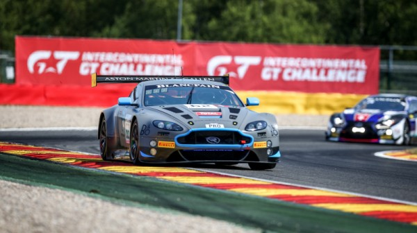 90-minute update: #62 R-Motorsport Aston Martin holds early Total 24 Hours of Spa lead