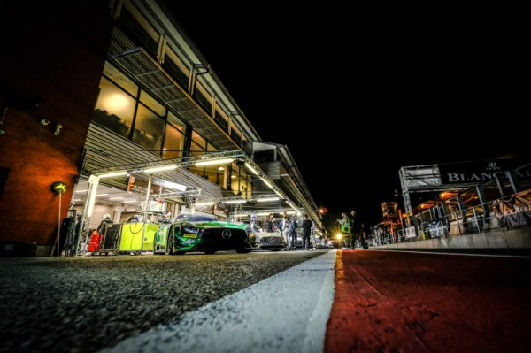 Challenging night hours during the Total 24 Hours of Spa