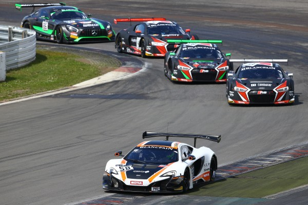 Garage 59 McLaren claims maiden win in Blancpain GT Series Sprint Cup