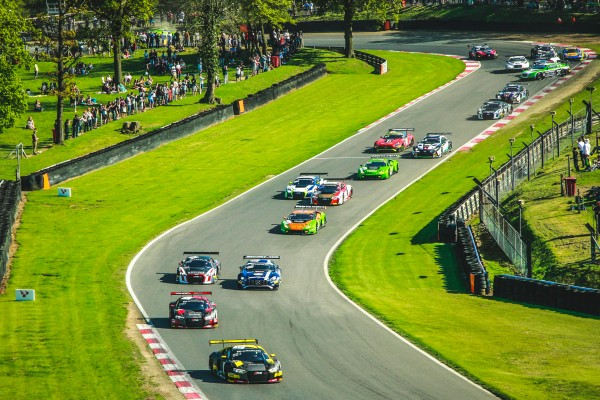 Belgian Audi Club Team WRT turns up the heat with double victory at sun-kissed Brands Hatch