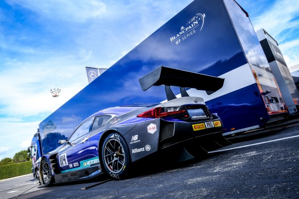 Participants Total 24 Hours of Spa in action during Official Blancpain GT Series Test Days