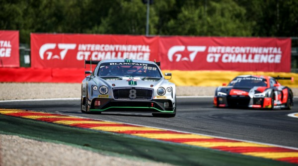 Bentley leads at the three-hour mark