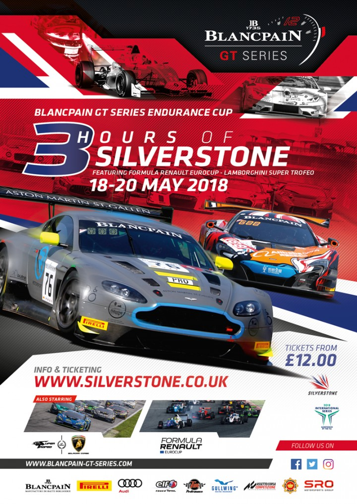 Silverstone, 18 - 20 May 2018 | Official Site of Blancpain GT Series